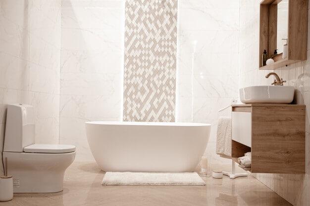 tendência em decoração para banheiro em 2021
