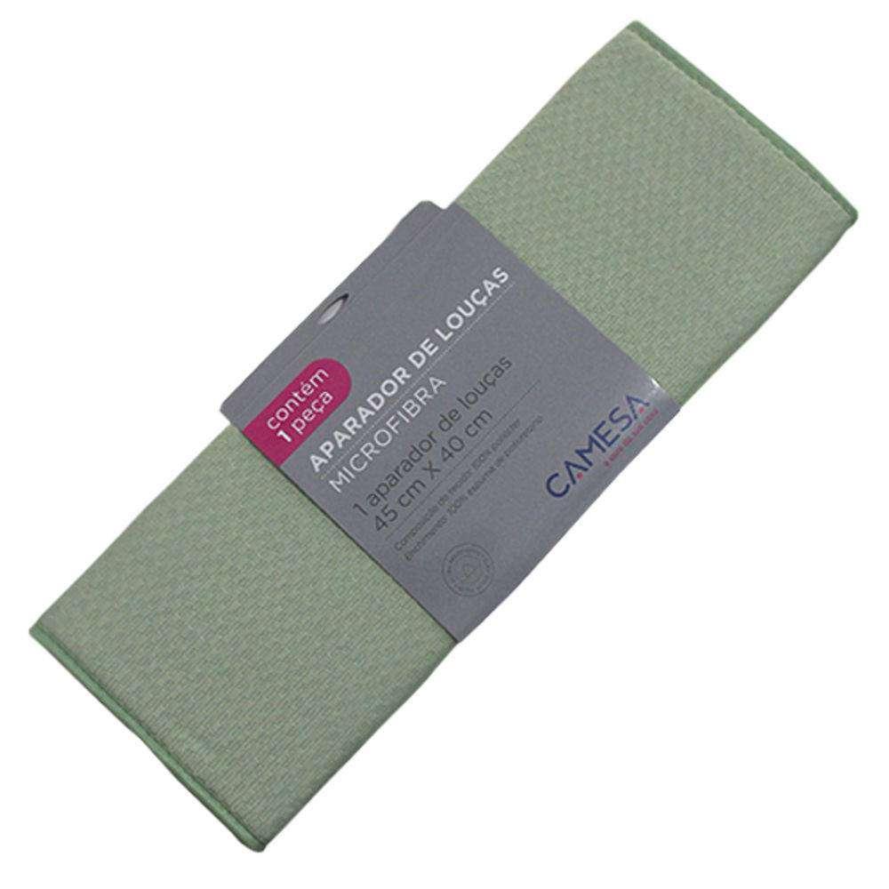 Aparador de Louças Microfibra - Camesa - Verde