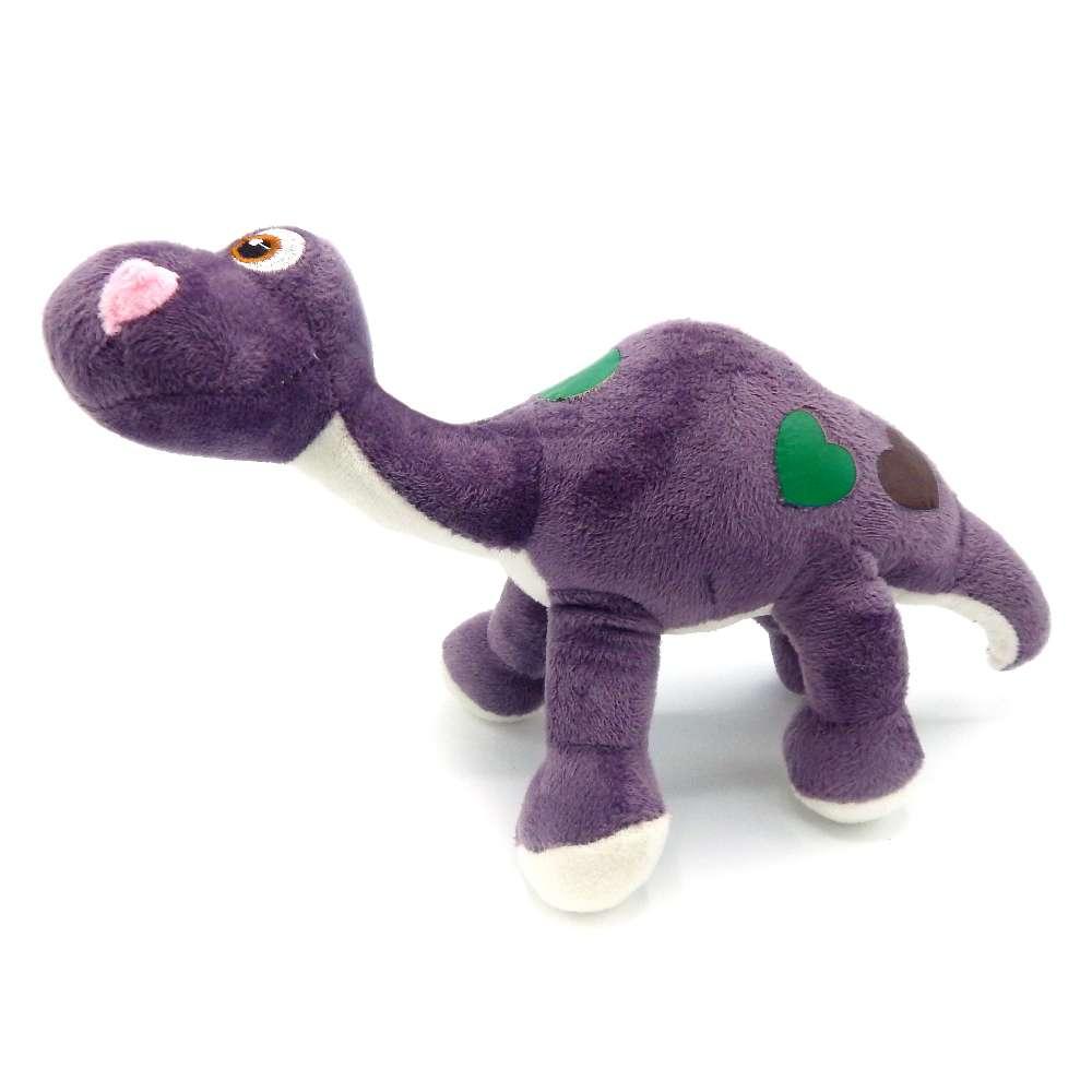 Bichinho de Pelúcia Meu Pet - Pet Toys - Dino roxo bola