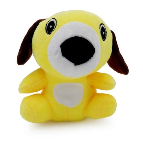 Bichinho de Pelúcia Meu Pet - Pet Toys - Dog amarelo