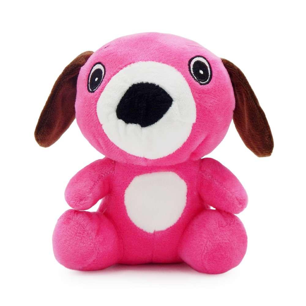 Bichinho de Pelúcia Meu Pet - Pet Toys - Dog rosa