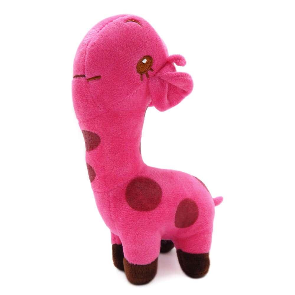 Bichinho de Pelúcia Meu Pet - Pet Toys - Girafinha rosa