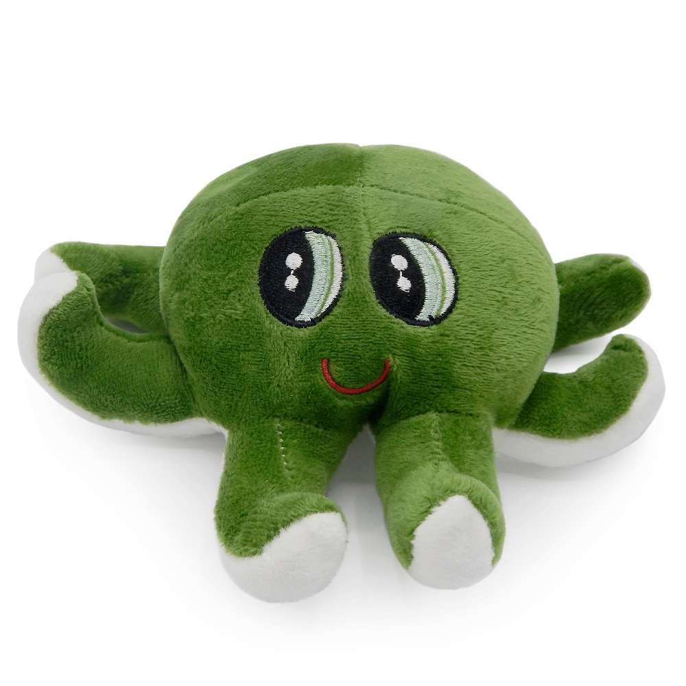 Bichinho de Pelúcia Meu Pet - Pet Toys - Polvo verde