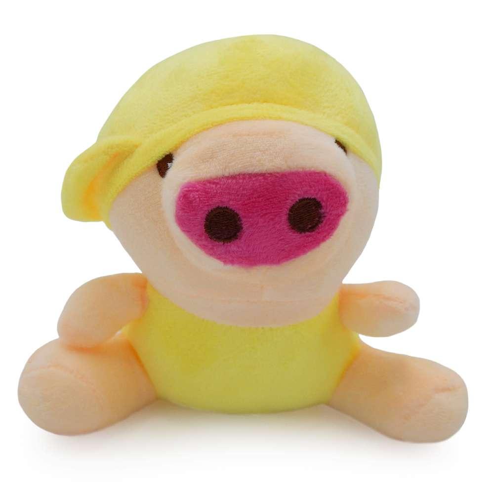 Bichinho de Pelúcia Meu Pet - Pet Toys - Porco amarelo