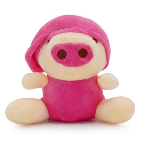 Bichinho de Pelúcia Meu Pet - Pet Toys - Porco rosa