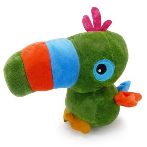 Bichinho de Pelúcia Meu Pet - Pet Toys - Tucano verde