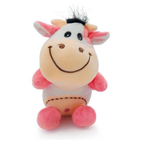 Bichinho de Pelúcia Meu Pet - Pet Toys - Vaca rosa