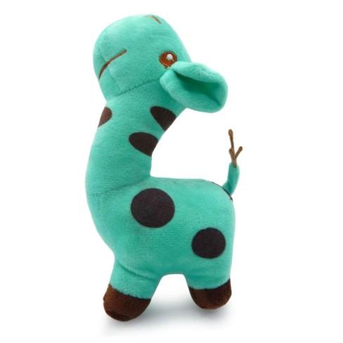 Bichinho de Pelúcia Meu Pet - Pet Toys - Girafinha azul claro