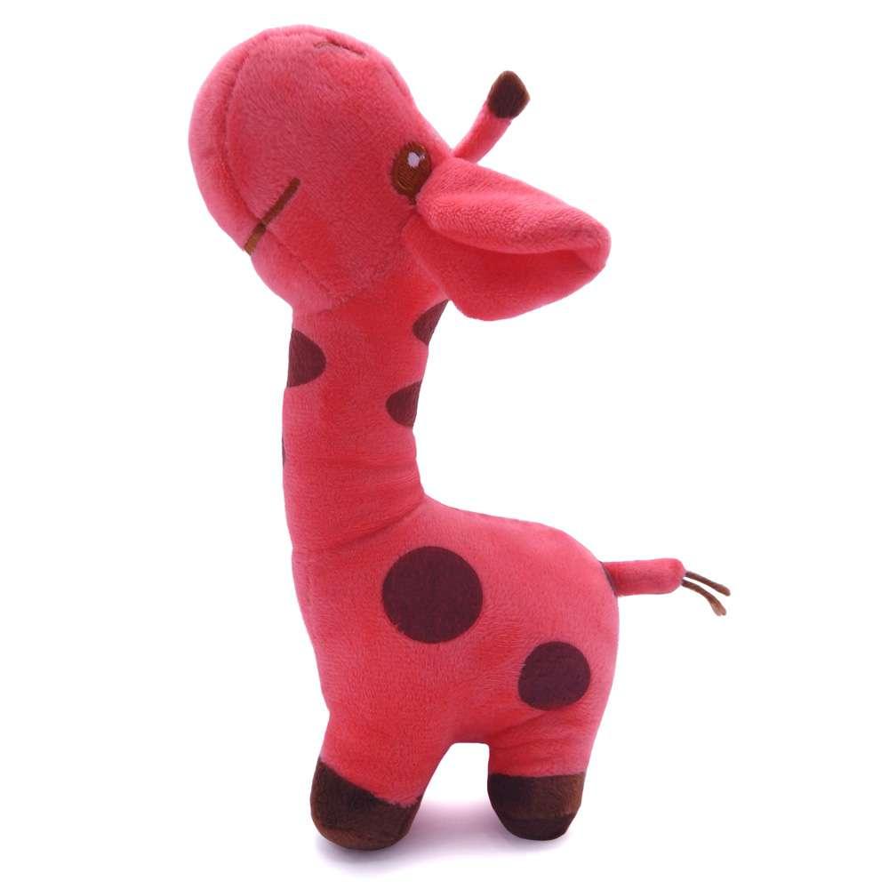 Bichinho de Pelúcia Meu Pet - Pet Toys - Girafinha coral