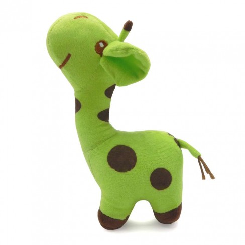 Bichinho de Pelúcia Meu Pet - Pet Toys - Girafinha verde limao