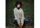 Blusão Poncho Flannel com Capuz Adulto - Toalhas Appel - Antilope
