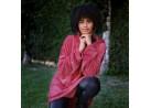Blusão Poncho Flannel com Capuz Adulto - Toalhas Appel - Batom