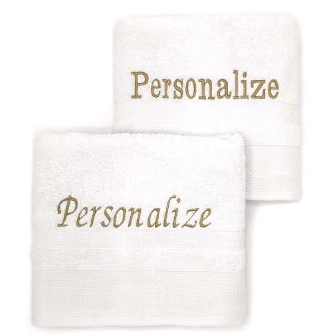 Bordado Personalizado para Toalhas e Roupões