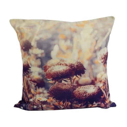 Capa de Almofada Digital Print - Bene Casa - Floral/bege