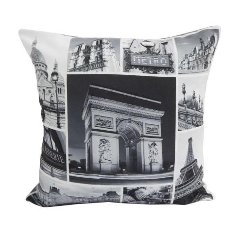 Capa de Almofada Digital Print - Bene Casa - Paris