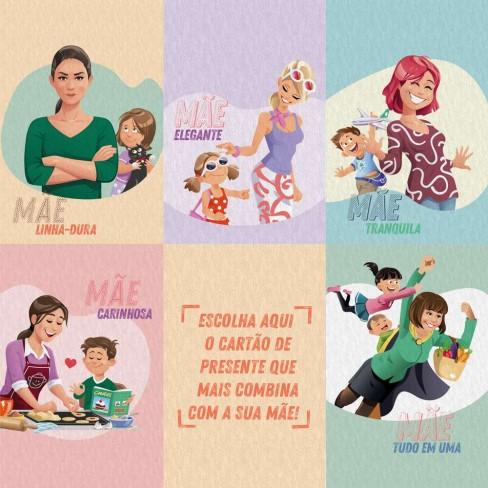Cartão de Presente Dia das Mães - Appel - Sortido