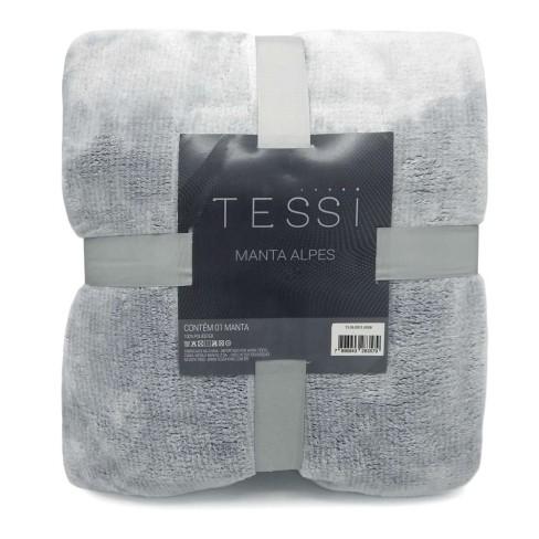 Cobertor Manta Alpes Queen 2,20x2,40 - Tessi - Azul