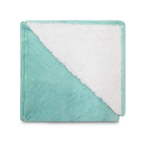 Cobertor Sherpa Glamour Queen 2,10x2,30 - Toalhas Appel - Aqua