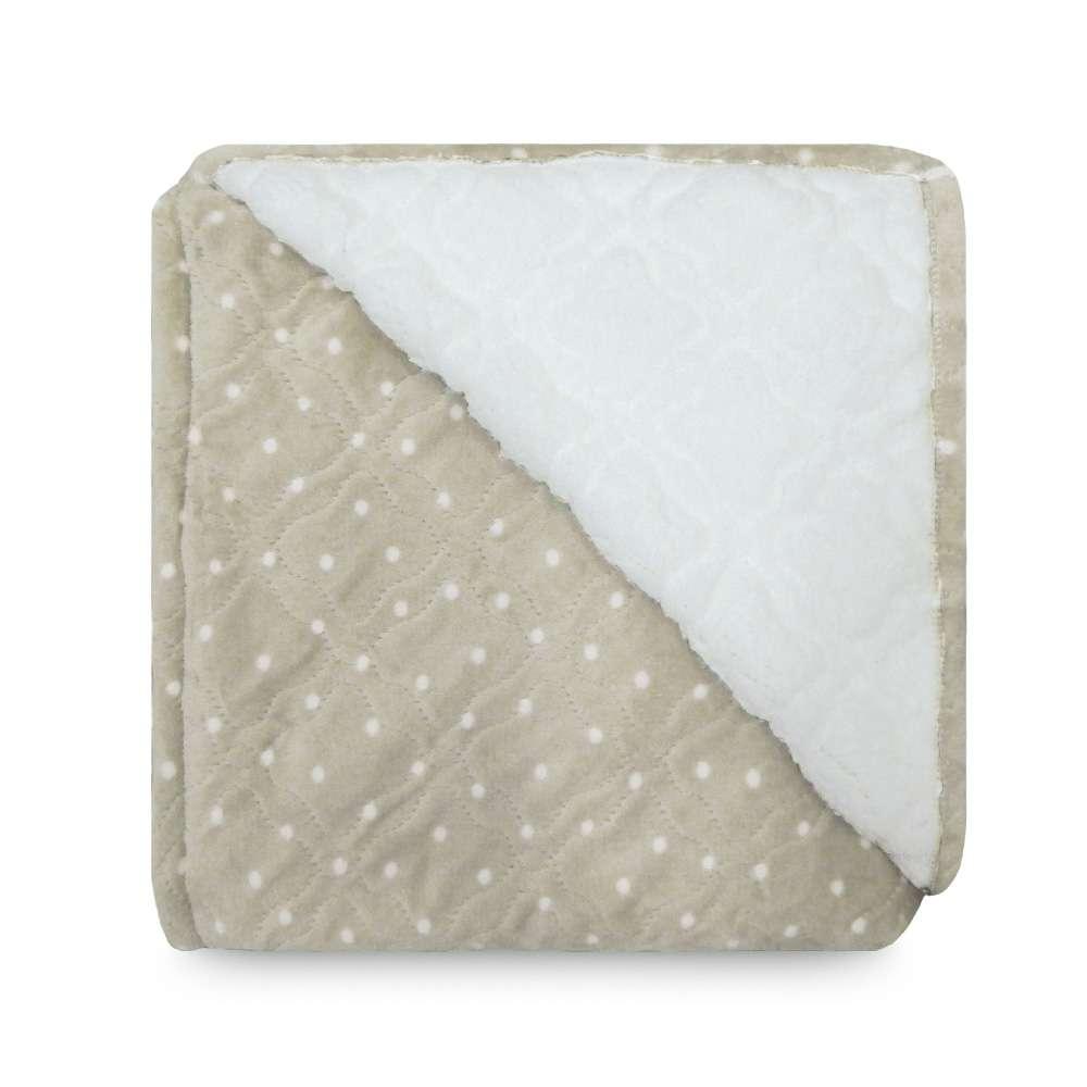 Cobertor Sherpa Glamour King 2,50x2,70 - Toalhas Appel - Poa fendi