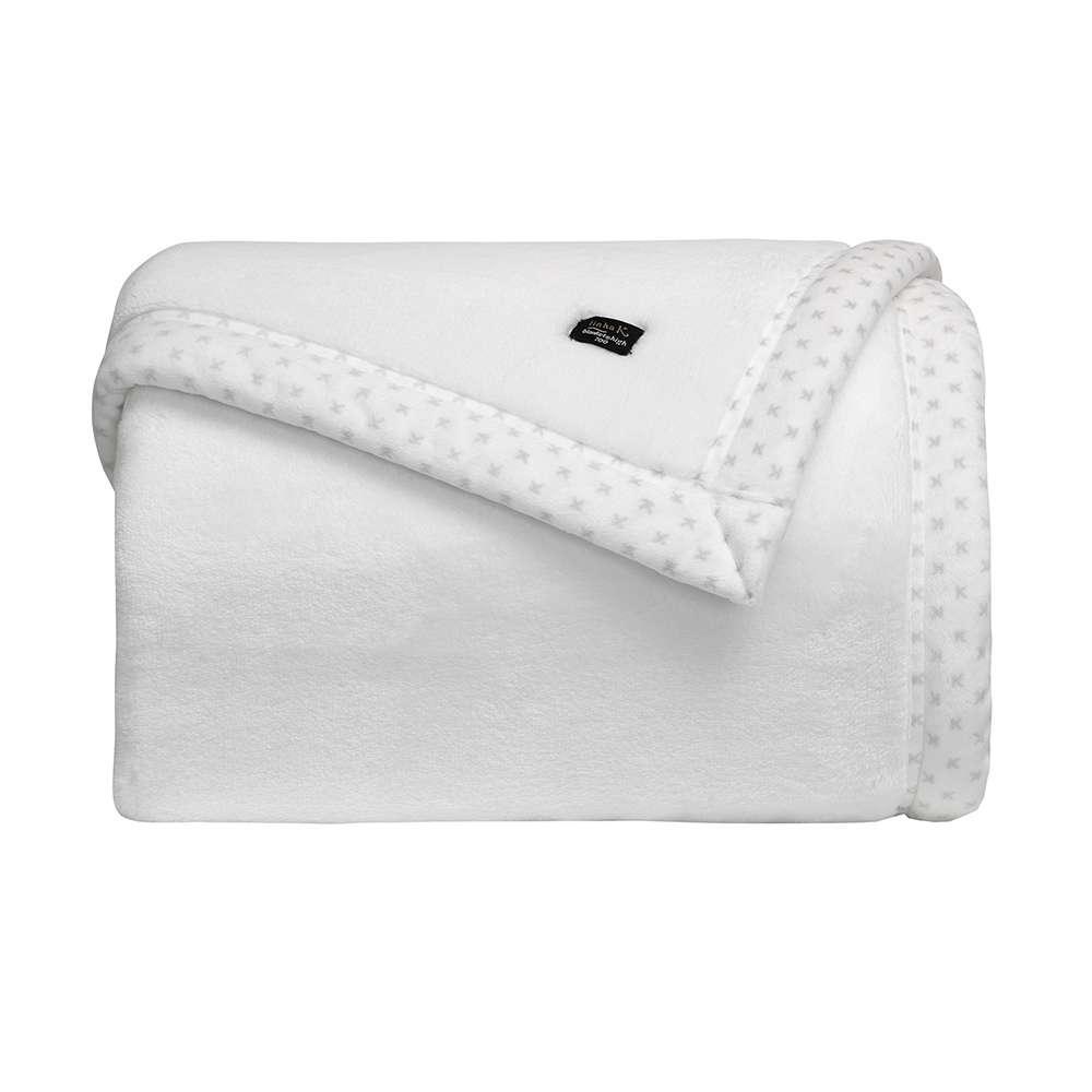 Cobertor Toque de Seda Blanket 700 Queen - Kacyumara - Branco