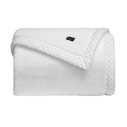 Cobertor Toque de Seda Casal Blanket 700 - Kacyumara - Branco
