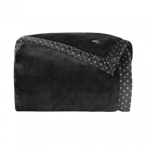 Cobertor Toque de Seda Casal Blanket 700 - Kacyumara - Preto