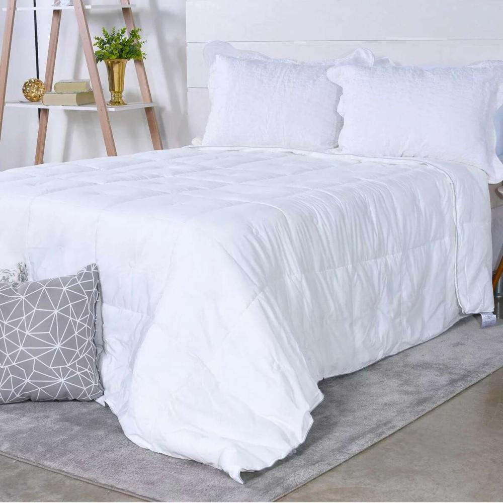 Edredom Toque de Plumas King 2,40x2,60 - Tessi - Off white