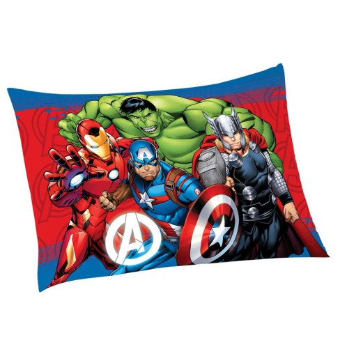 Fronha Avulsa Estampada Kids Personagens 50x70 - Lepper - Avengers