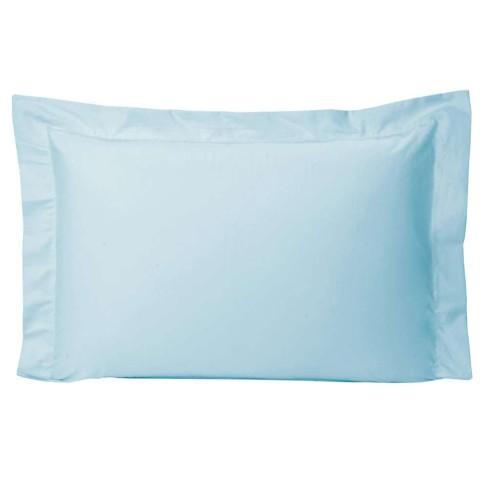 Fronha Percal 400 Fios Diamond 50x70 - Toalhas Appel - Azul claro