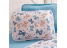 Fronha para Berço Malha 120g/m² - Sulbrasil - Urso azul