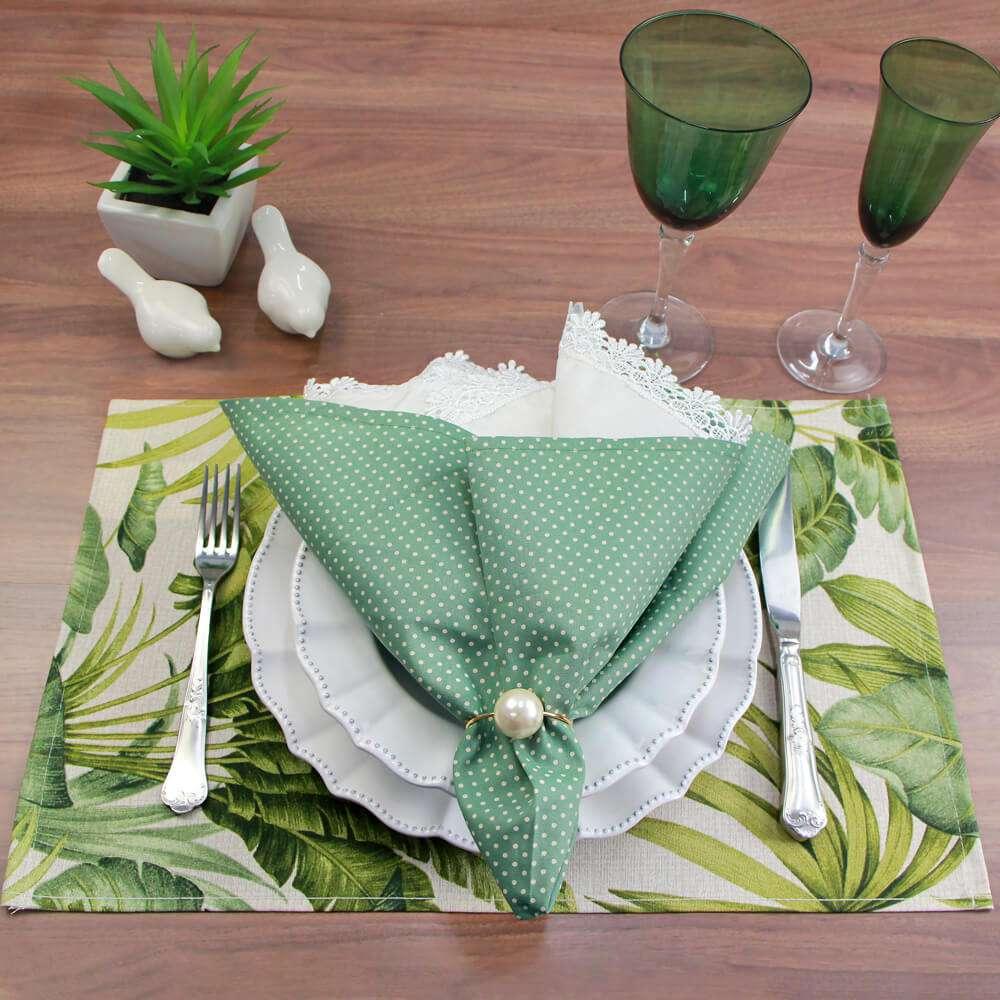 Guardanapo de tecido 46x46 - Appel - Verde