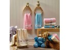 Jogo de Toalha 4 peças Infantil Soft Baby e Lavabo Decor - Appel - Azul céu