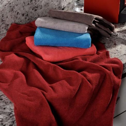 Kit 12 Panos de Limpeza Mega Absorção 0,60m x 0,80m - Panosul - Sortido