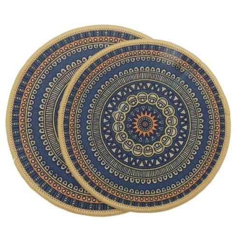 Kit Descanso de Panela 2 peças Nova Mesa - Kacyumara - Azul