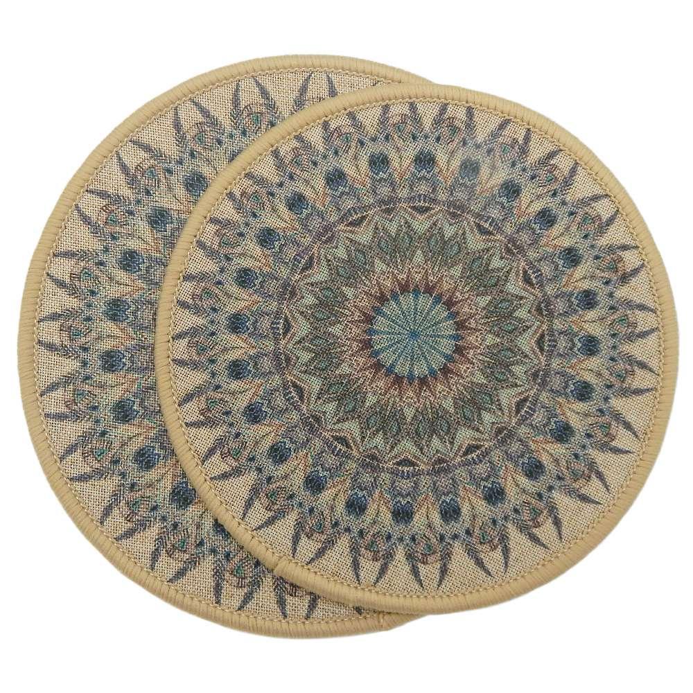 Kit Descanso de Panela 2 peças Nova Mesa - Kacyumara - Bege