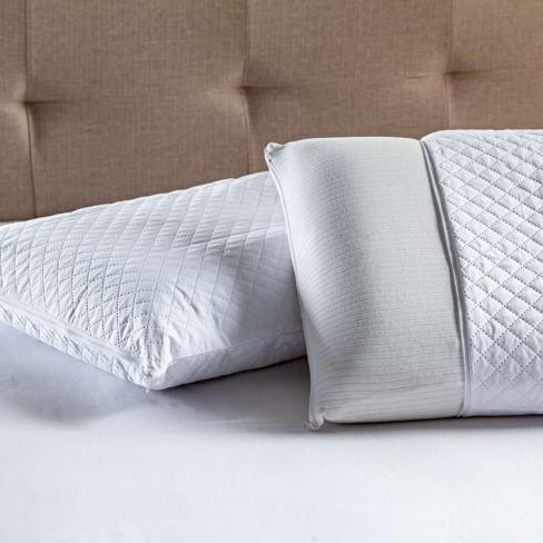Kit com 2 Protetor de Travesseiro Impermeável 70x50 - Appel - Branco