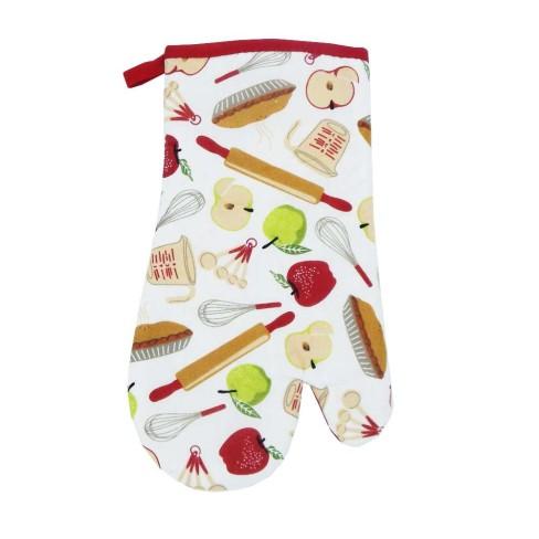 Luva de Cozinha Estampada 30x17 - Panosul - Frutas