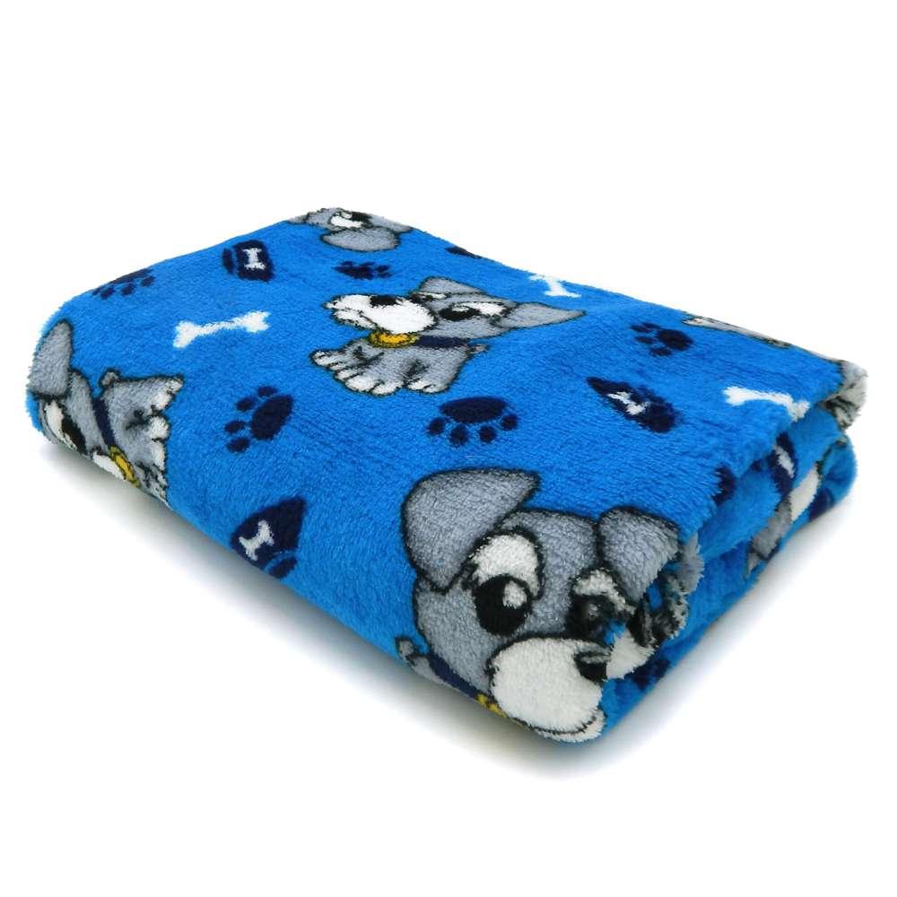 Manta Microfibra Pet 0,70m x 1,00m - Panosul - Azul