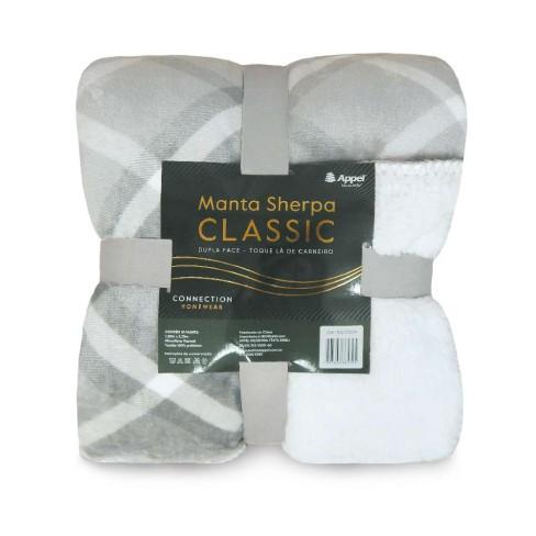 Manta Sherpa Classic King 2,50x2,30 - Toalhas Appel - Escocia