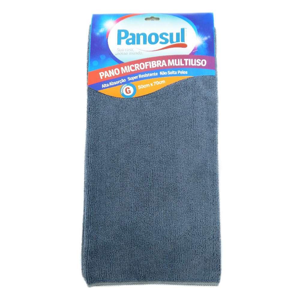 Pano de Limpeza Mega Absorção 0,50m x 0,70m - Panosul - Azul