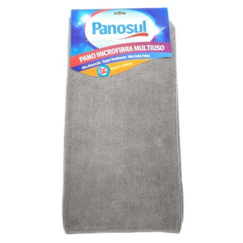 Pano de Limpeza Mega absorção Multiuso 60x80 - Panosul - Cinza