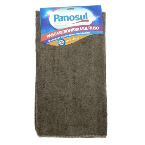Pano de Limpeza Mega absorção Multiuso 60x80 - Panosul - Marrom