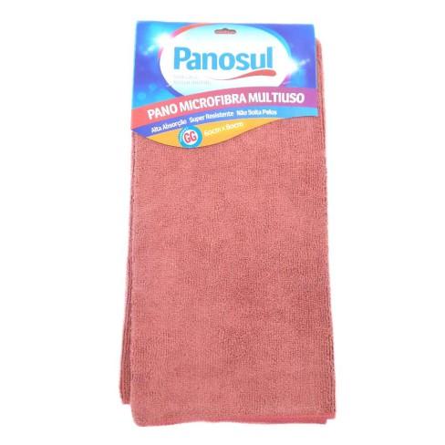 Pano de Limpeza Mega absorção Multiuso 60x80 - Panosul - Rosa
