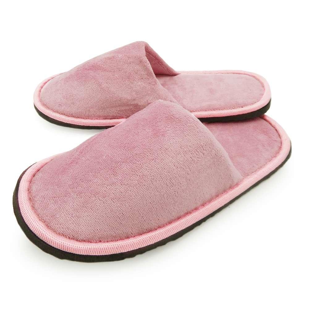 Pantufa Plush Slim - Bene Casa - Rosa
