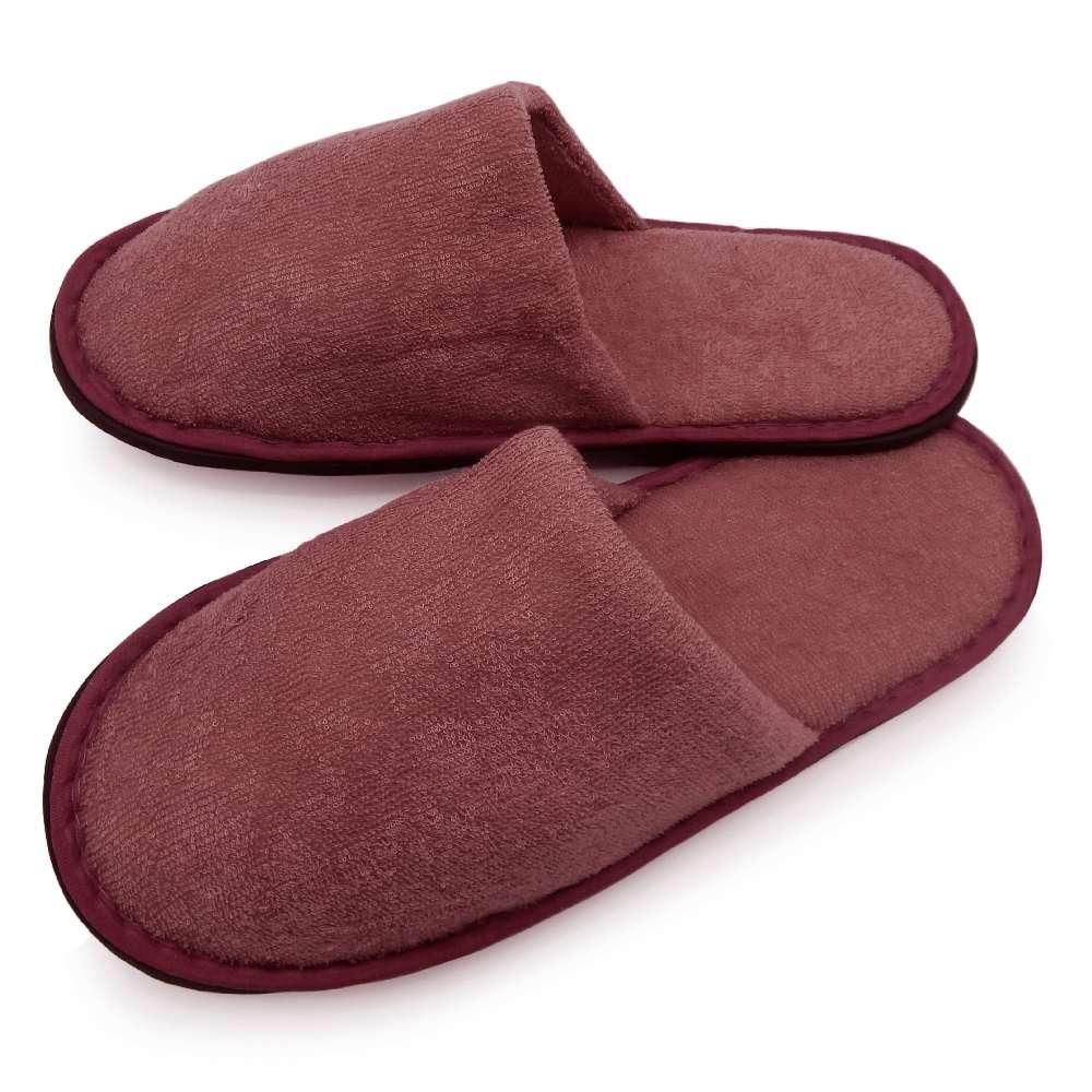 Pantufa Plush Slim - Bene Casa - Vermelho