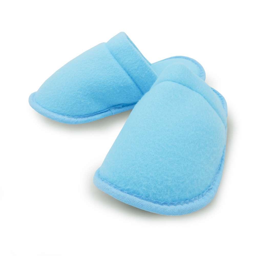Pantufa de Malha Estampada - Appel - Azul