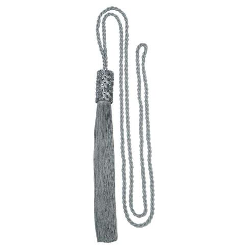 Pingente Cilindro Infinity Cordão 1,20m - Bella Arte - Prata