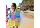 Poncho de Praia com Capuz Infantil 50x115 - Toalhas Appel - Havaiana