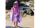 Poncho de Praia com Capuz Infantil 50x115 - Toalhas Appel - Unicornio