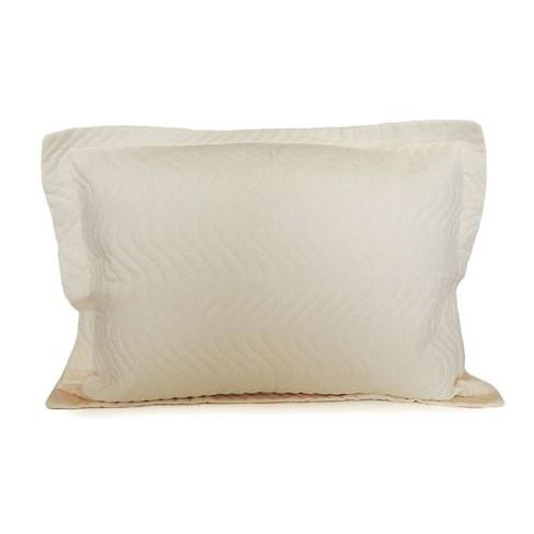 Porta Travesseiro Avulso Matelassê 80x60 - Appel - Perola